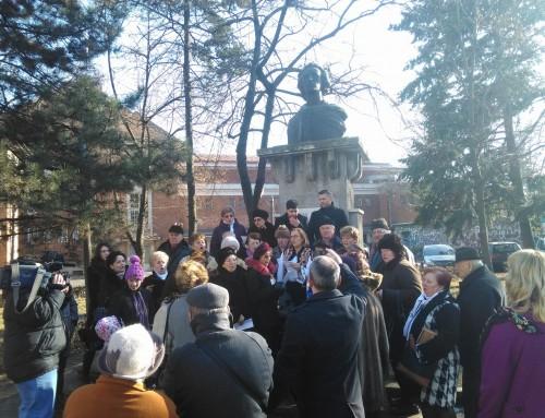 Credința și cultura au creat, la Timișoara, un 15 ianuarie memorabil! Maria Grapini i-a dedicat lui Eminescu o duminică încărcată de emoție