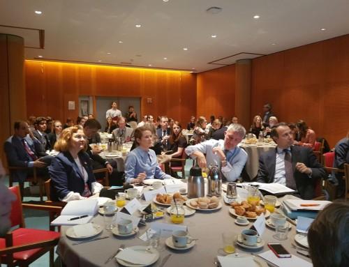Discuţii pe tema e-cardului european, în Intergrupul pentru IMM-uri. Dezbaterea a fost moderată de co-preşedintele Maria Grapini