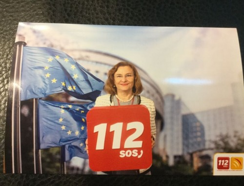 """Serviciul de urgenţă 112, în prim-plan european. Maria Grapini: """"Se poate ca România sa fie reprezentată profesionist!"""""""