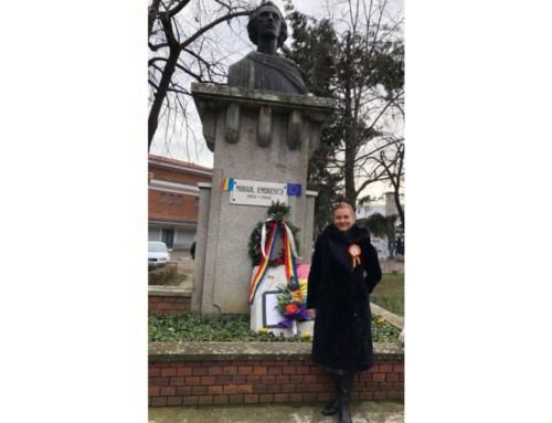 """Maria Grapini, mesaj de la Bruxelles: """"Să avem încredere în România, să vorbim frumos despre ea, să ne susținem valorile, să fim constructivi, să păstrăm 15 ianuarie în suflete, întotdeauna!"""""""
