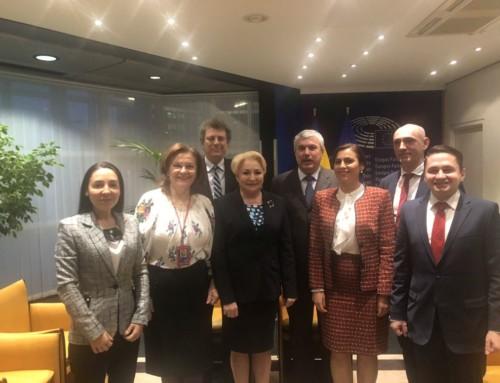 """Maria Grapini în PE: """"Vă asigur, dragi colegi, că, la final, veți vedea ce Președinție bună are România!"""""""
