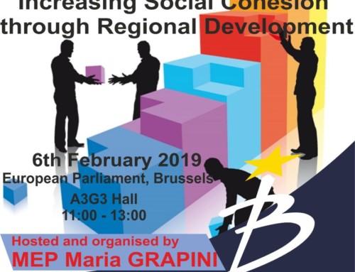 Conferință europeană la Bruxelles: Maria Grapini este gazda unei dezbateri pe teme de dezvoltare regională!