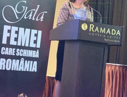 Un nou premiu pentru Maria Grapini! Europarlamentarul este o femeie care schimbă România!