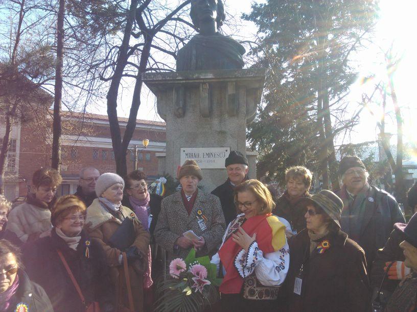 Umaniștii Mariei Grapini îl omagiază pe Mihai Eminescu, și la Timișoara. Europarlamentarul va fi alături de ei