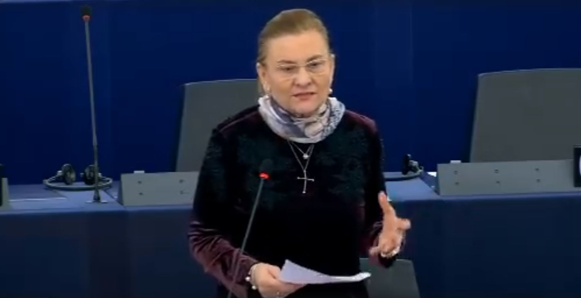 Lupta Mariei Grapini pentru libera circulație a românilor continuă!