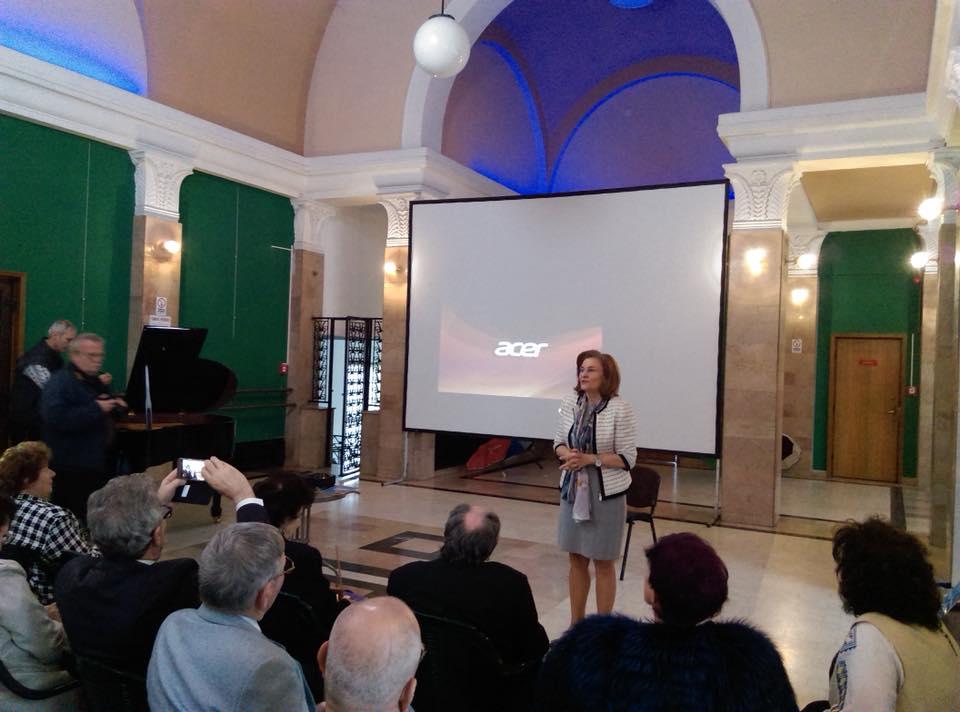 În Anul Centenarului, Maria Grapini face o punte literară latină, la Bruxelles!