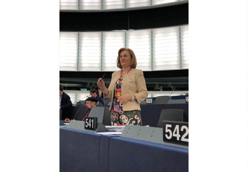 """Maria Grapini, în PE: """"Educația este fundamentul democrației și trebuie să fie echitabilă!"""""""