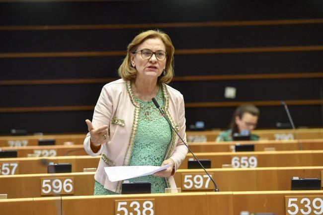 """O nouă intervenție tăioasă a Mariei Grapini, în plenul PE, pe tema Schengen: """"O să fac o scrisoare Consiliului, să propun desființarea PE, dacă democrația este cu capul în jos și se inventează motive politice!"""""""