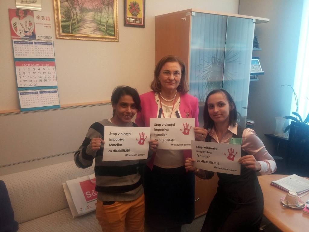 De Ziua Internațională a Persoanelor cu Dizabilități, Maria Grapini va fi, la Timișoara, în mijlocul acestor oameni extraordinari!