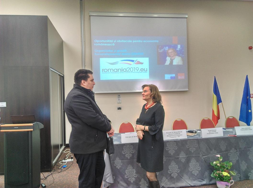 Echipa Cassiopeia a Liceului Grigore Moisil Timișoara va ajunge la Boston și cu sprijinul europarlamentarului Maria Grapini!