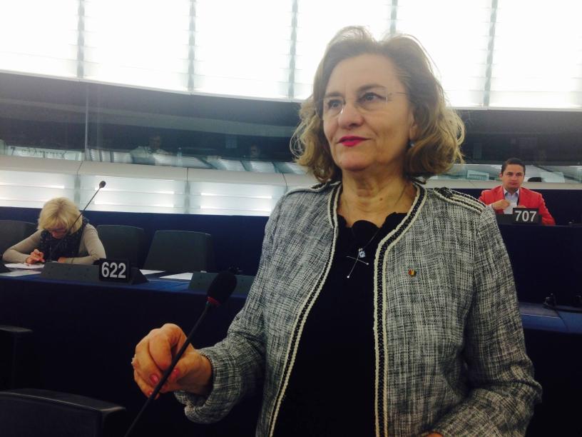 """Maria Grapini, reacție la declarațiile lui Klaus Iohannis: """"Prima impresie este că se vrea reluarea atacului prezidențial asupra bunului simț și a dreptății!"""""""