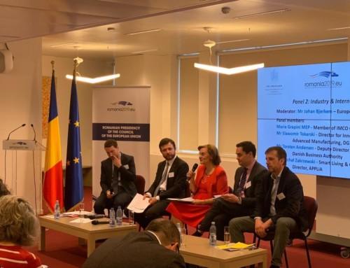 """Maria Grapini, la Reprezentanța Permanentă a României la UE: """"O ţară fără industrie are o problemă de siguranţă socială. O Uniune fără industrie are o piaţă internă vulnerabilă!"""""""
